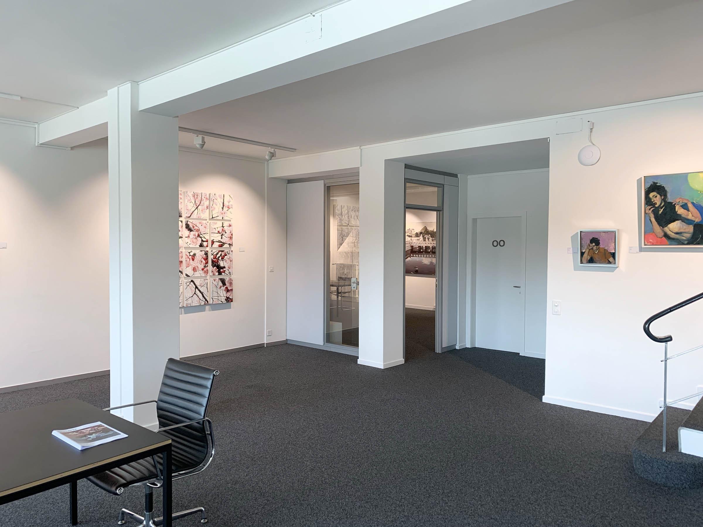 Schwerelos #05 gallery downstairs by cfk